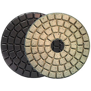 "Alpha Ceramica 4"" Buff Polishing Pad"