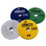 Premium Disco 3STEP Wet Dry Polishing Pads