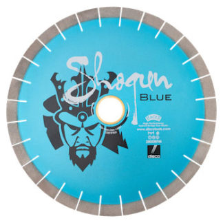 shogun blue cutting blade - stone fabrication tools