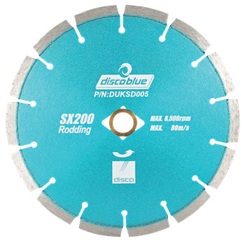 disco blue rx200 rodding blade