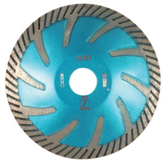 disco blue rx350 contour blade - stone fabrication tools