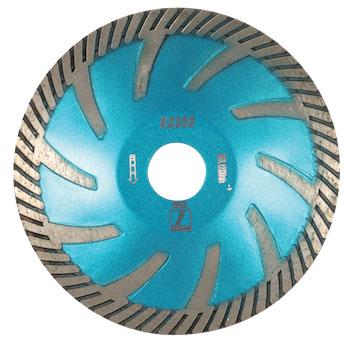 disco blue rx350 contour blade - stone fabrication tools