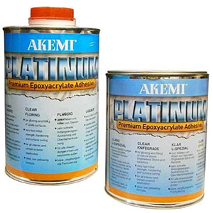 Akemi Platinum Clear Premium Polyester Adhesives