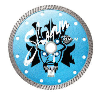 Shogun super premium turbo premium blade for granite