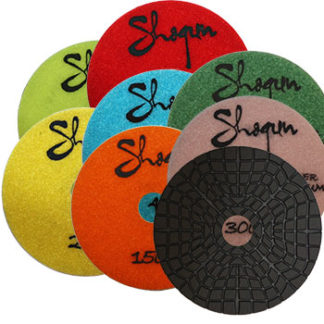 shogun 7 step wet polishing pads