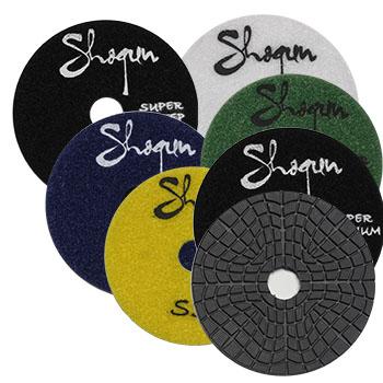 Super Premium Shogun 3step Wet And Dry Polishing Pads