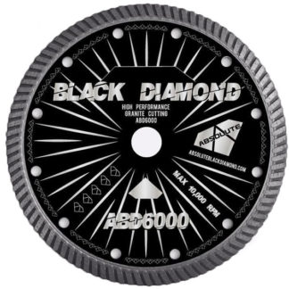 Black Diamond 6000 cutting blade for granite