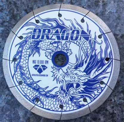 Absolute Black Diamond Dragon J Slot Blade