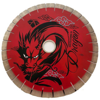 ABD Red Dragon Arranged Diamond Silent Core Bridge Saw Blade