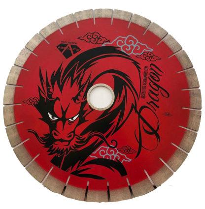 ABD Red Dragon Arranged Diamond Silent Core Bridge Saw Blade