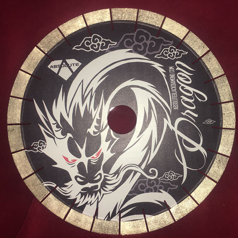 Absolute Black Diamond Black Dragon Premium Blade Stone