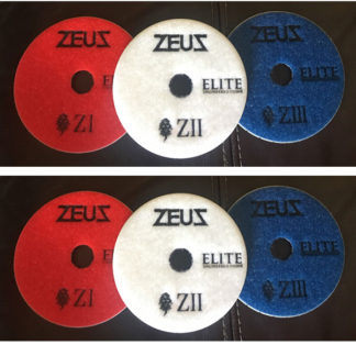 Zeus Elite Polishing Pads For Engineered Stone