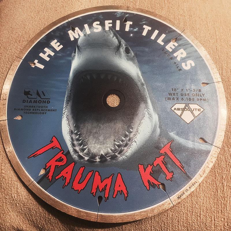 Absolute Black Diamond Trauma Kit Tile Blade Absolute