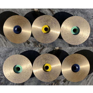 full face sintered cup-wheel