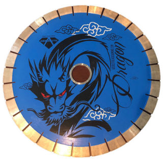 Absolute Black Diamond Blue Dragon Bridge Saw Blade