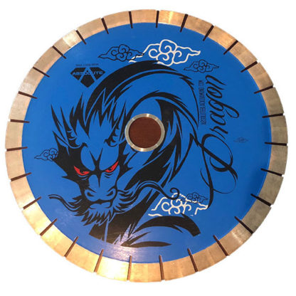 Absolute Black Diamond Blue Dragon Bridge Saw Blade