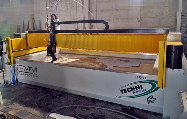 Techni Waterjet - Absolute Black Diamond